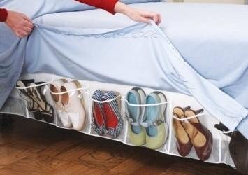 Spremite cipele ispod prekrivača kreveta