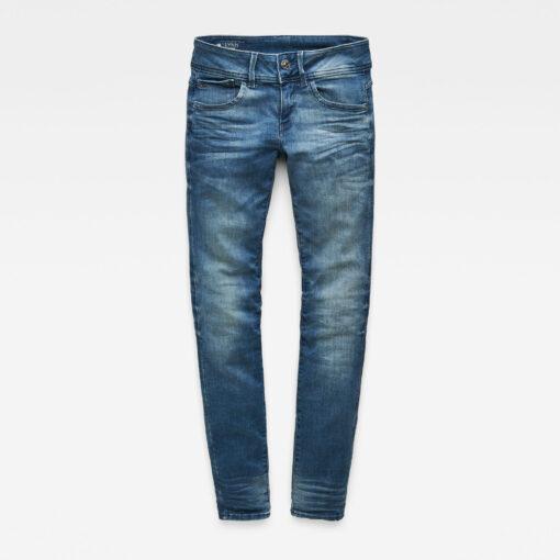 Ženske denim hlače (traper boja)