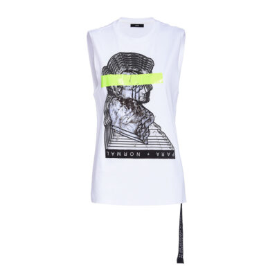 Ženska majica Diesel (Crna/bijela boja)