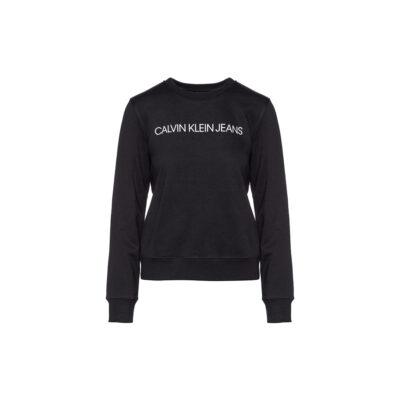 Ženska majica Calvin Klein Jeans (crna boja)
