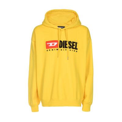 Muški duks Diesel (bijela / crna / žuta boja)