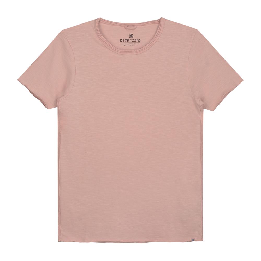 Muška majica Dstrezzed (roza/bijela/maslinasto zelena boja)
