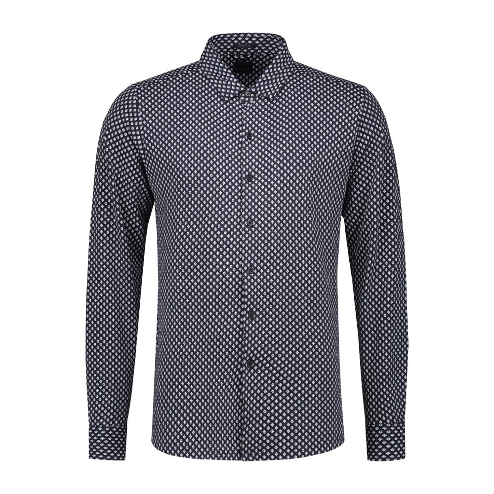 Muška košulja Dstrezzed (crna boja)