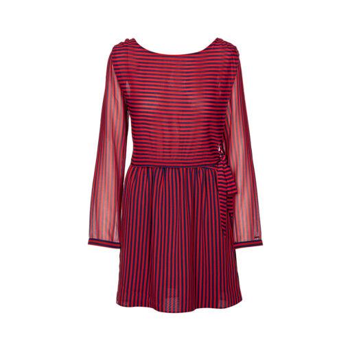 Ženska haljina Tommy Jeans (crvena boja)