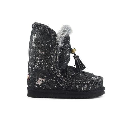 Ženske čizme Mou (crna s zlatnim boja)