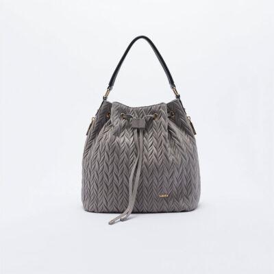 Ženska torba Gaudi (siva / crna boja)