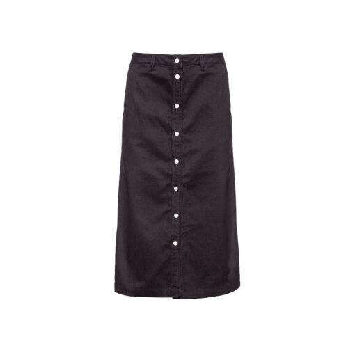 Ženska suknja Calvin Klein Jeans (crna boja)