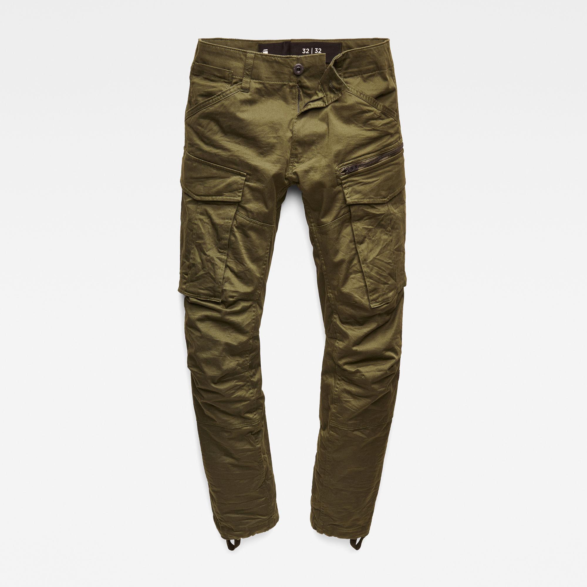 Muške hlače (siva/zelena boja)