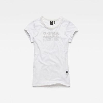 Ženska majica (bijela/crna boja)