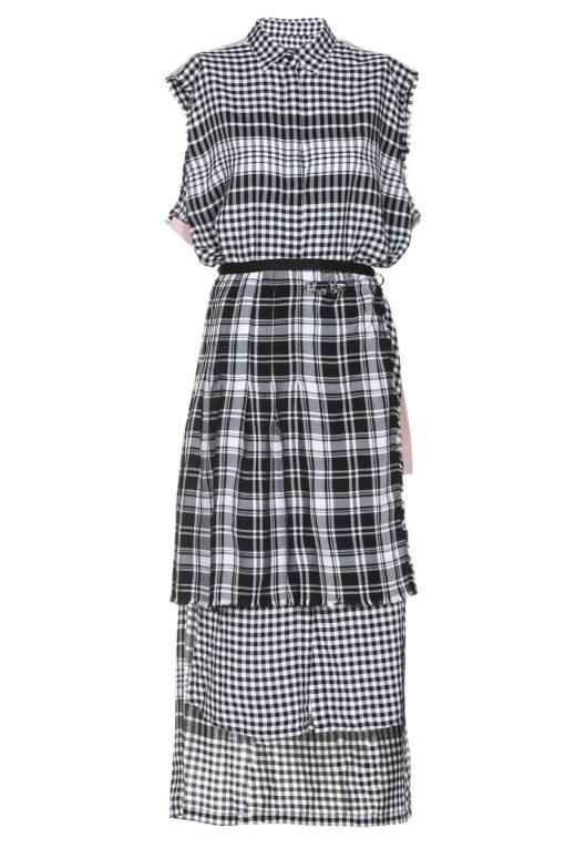 Ženska haljina Diesel (crna boja)