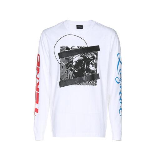 Muška majica Diesel (bijela boja)
