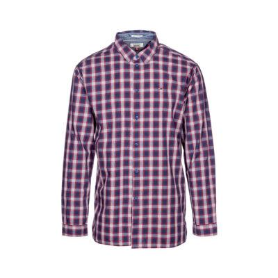 Muška košulja Tommy Jeans (karirani uzorak boja)
