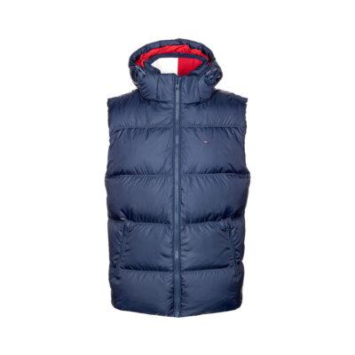 Muška jakna Tommy Jeans (plava boja)