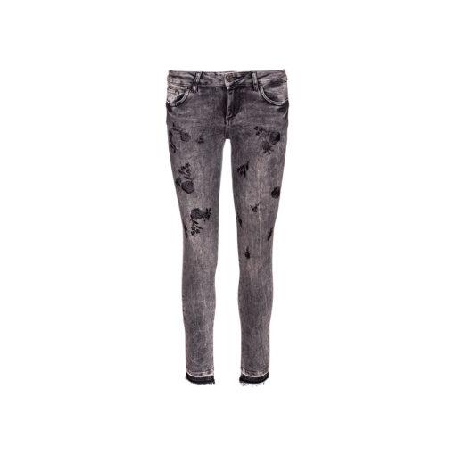 Ženske jeans hlače Liu Jo (siva boja)