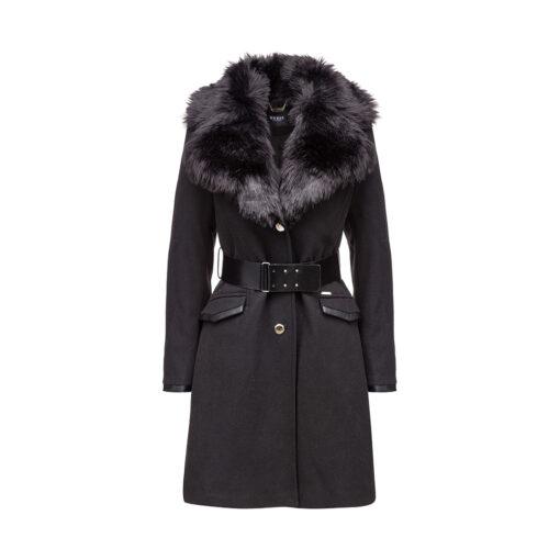 Ženski kaput Guess (crna boja)