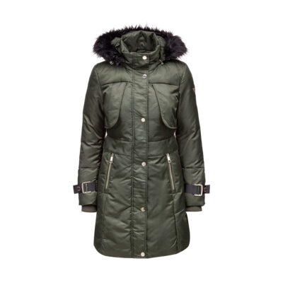 Ženska jakna Guess (maslinasto zelena boja)