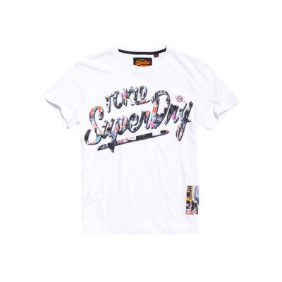 Muška majica Superdry (bijela boja)