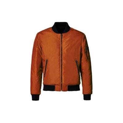 Muška Guess jakna (smeđa boja)